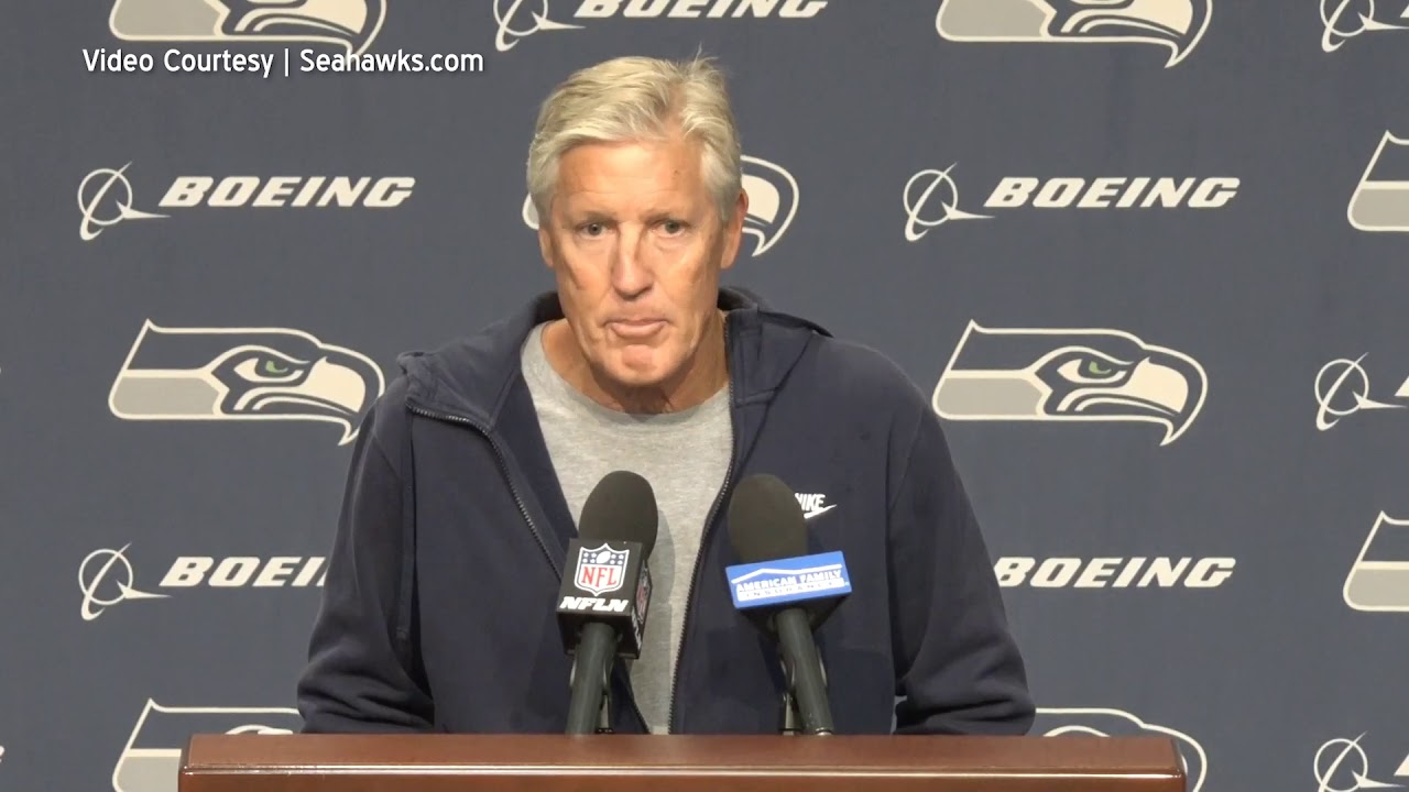Pete Carroll on Pittsburgh 2019-09-11