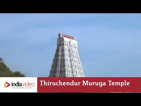 Thiruchendur Murugan Temple At Tuticorin | India Video