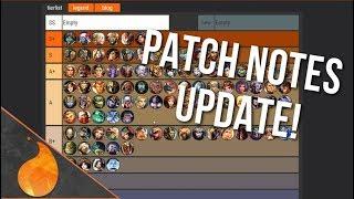 Smite Tier List Update!  11/11/18: Post Worlds Placements