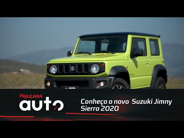 Conheça o novo Suzuki Jimny Sierra 2020