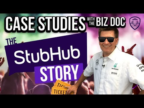 How Stubhub DOMINATED ticketing - A Case Study for Entrepreneurs