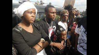 Queen Darleen Amwaga Machozi Msiba wa Dansa wa AliKiba