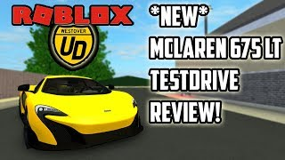 * NEU* MCLAREN 675LT TESTDRIVE REVIEW!!!| Ultimatives Fahren (ROBLOX)
