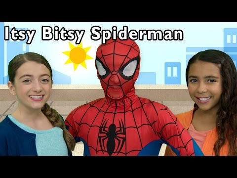 Itsy Bitsy Spider and More | Real Spiderman Surprise Egg Magic | Baby Songs from Mother Goose Club!