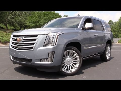 2016 Cadillac Escalade Platinum - Start Up, Road Test & In Depth Review