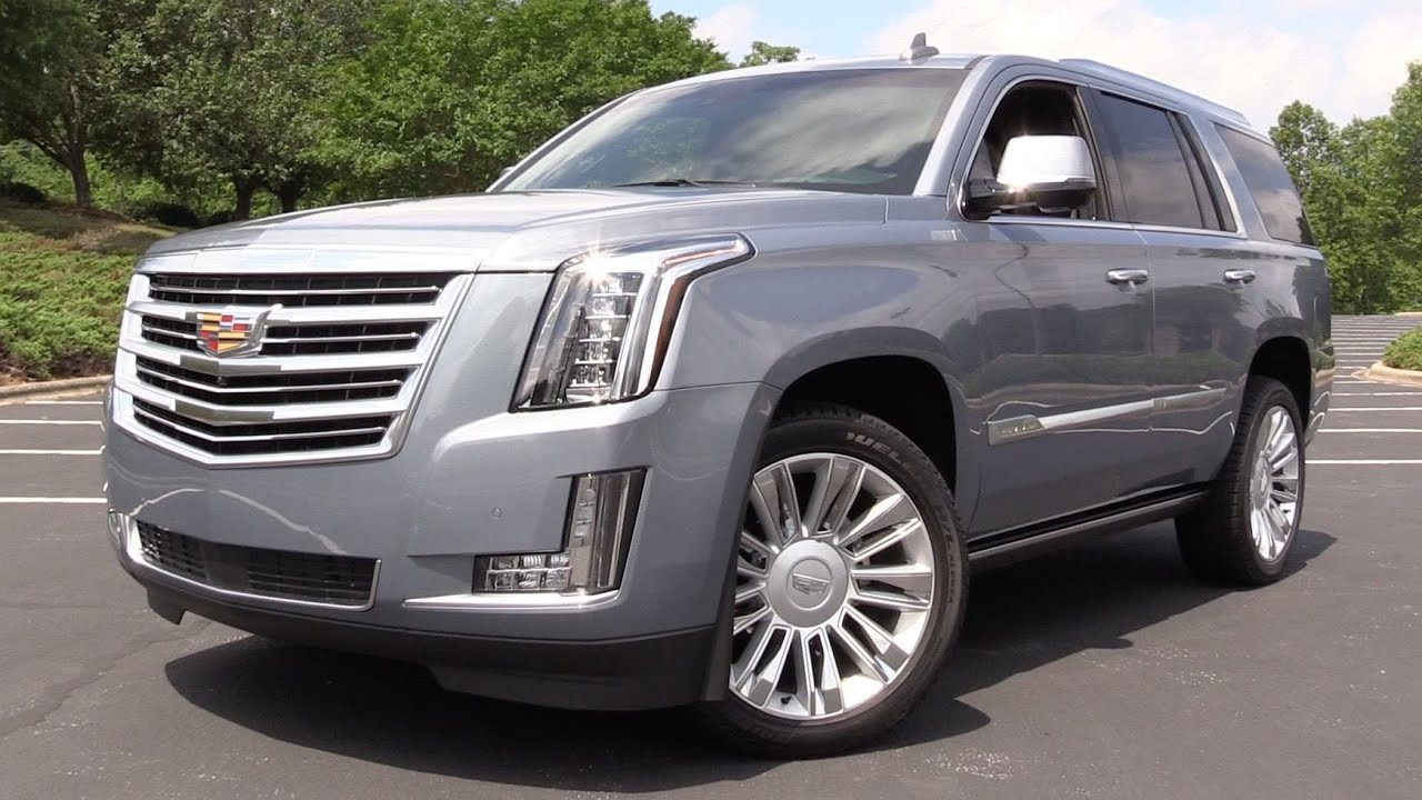 2016 Cadillac Escalade Platinum Start Up Road Test In Depth Review