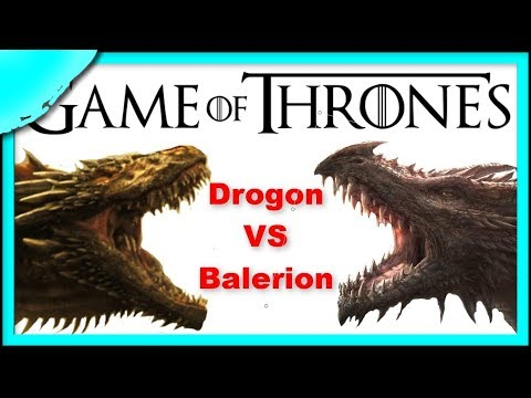 ✈ How BIG will DROGON get in Game of Thrones Season 7 + How BIG was BALERION ✈