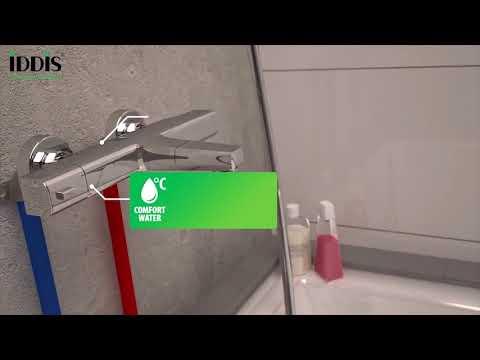 Универсальный смеситель IDDIS для ванны с термостатом Uniterm