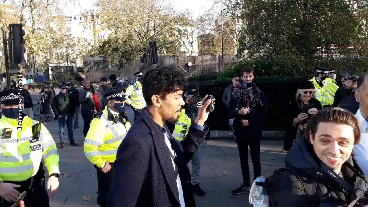 David Kurten & Resistance GB Told To Disperse