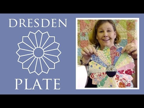 Dresden Plate Tutorial - Quilting Made Easy!