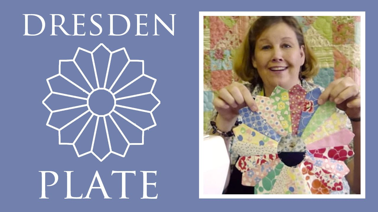 Dresden Plate Template | Dresden Plate Tutorial Quilting Made Easy Youtube