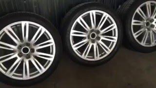 4 колеса на Audi A8 265/40/20 + диски ronal (оригинал)(, 2016-04-15T13:36:47.000Z)