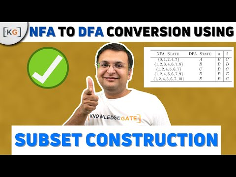 NFA to DFA conversion | TOC | THEORY OF COMPUTATION | AUTOMATA | COMPUTER SCIENCE | part-38