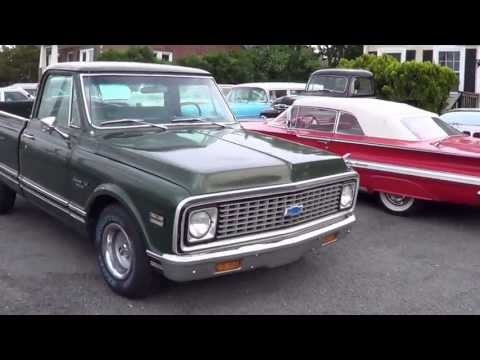 1971 71 Chevrolet C10 Custom Deluxe Pickup For Sale