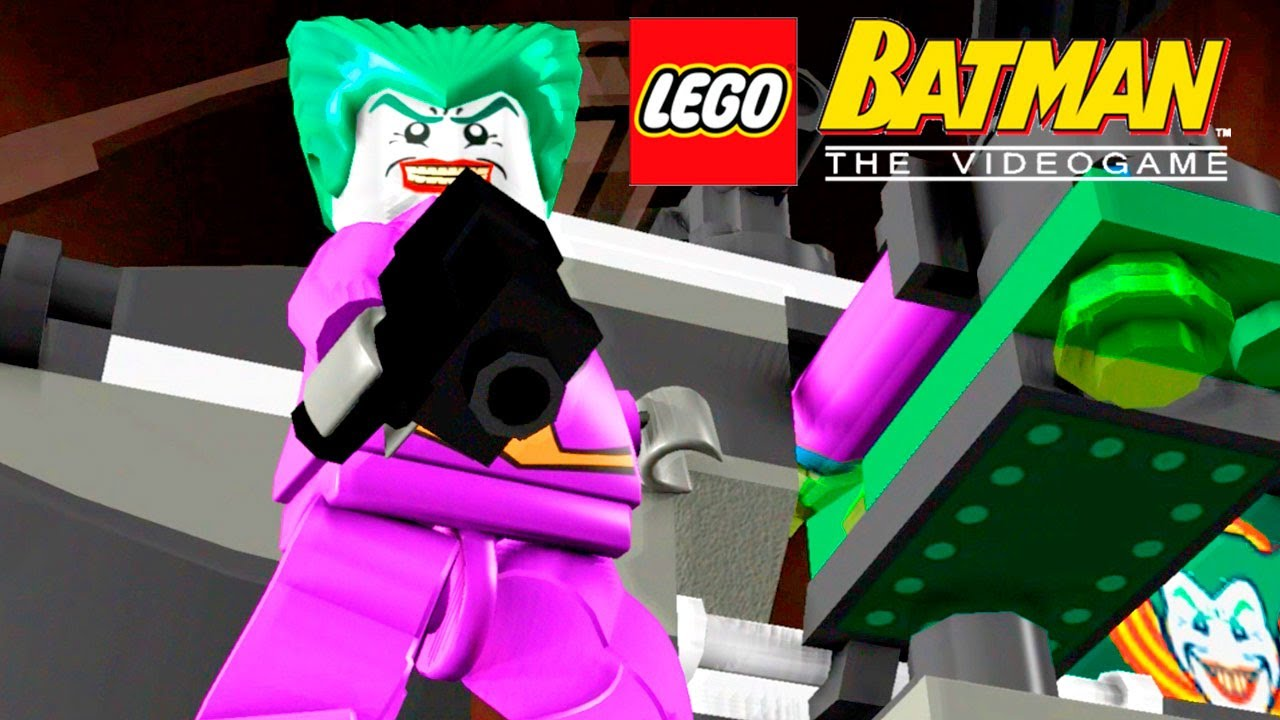 Lampada Lego Batman : Coringa conseguiu escapar lego batman the videogame youtube