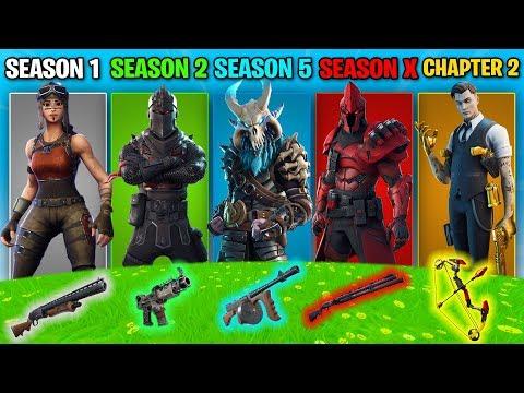 The *RANDOM* Fortnite Season Challenge