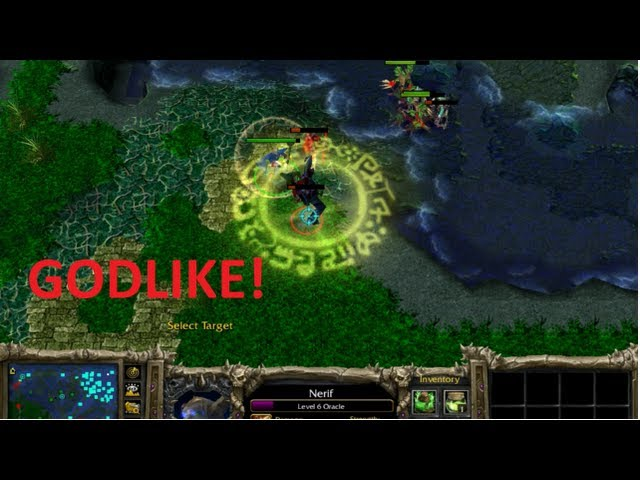 Dota 6.78 - Nerif, the Oracle GODLIKE ! Travel Video