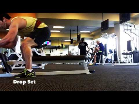Using Drop Sets For Increased Muscle Growth | Weight Training Principles