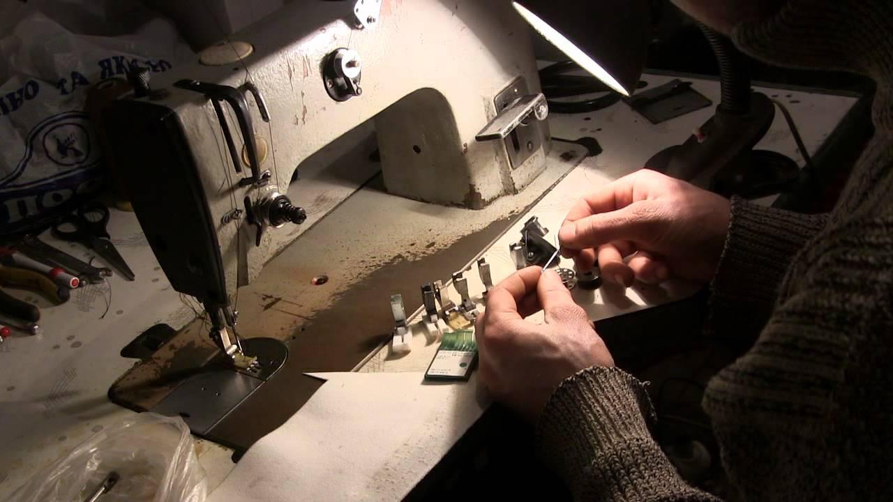 Промышленная швейная машина 1022 класса | устройство и ремонт.