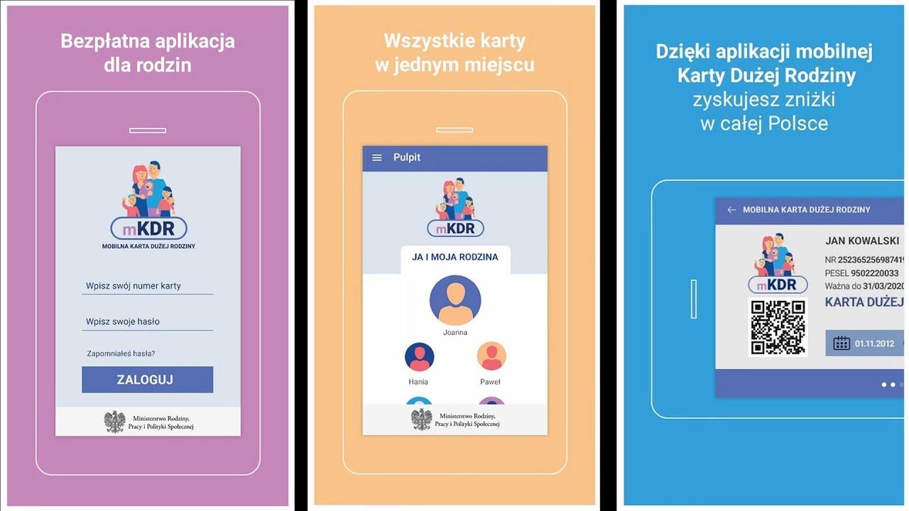 Więcej udogodnień z aplikacją Karty Dużej Rodziny- ITV Kielce
