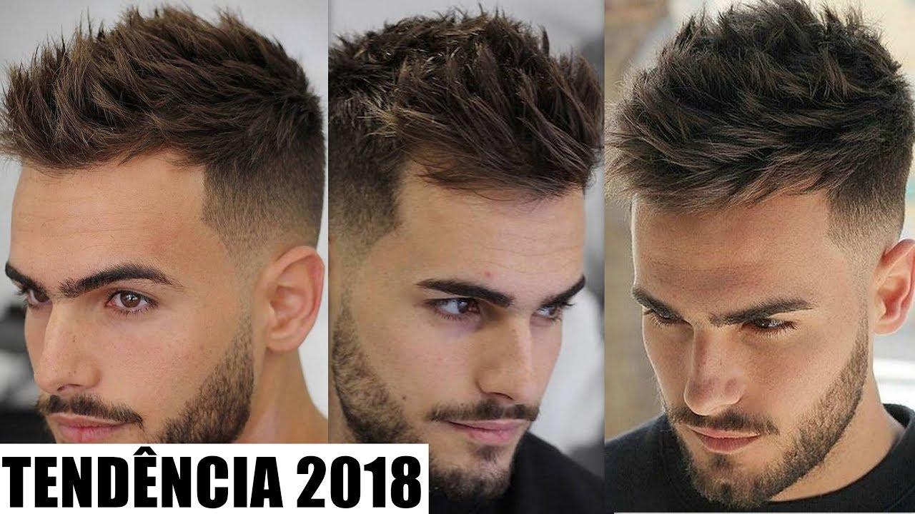 Corte De Cabelo Masculino Tend 202 Ncia 2018 High Top Fade