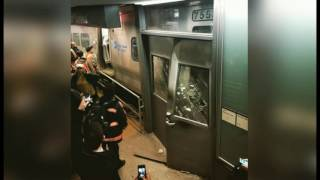Brooklyn Train Derailment Smashes Platform Door, Leaves 103 Injured