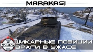 Враги будут в ужасе от таких тактик, Шикарные позиции World of Tanks