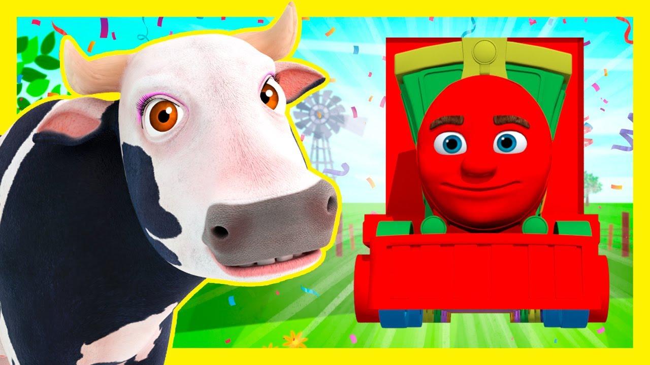 Tren de Colores de La Granja de Zenón - Aprende los Colores #3 | A Jugar