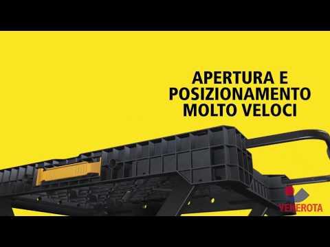 Il banco da lavoro pieghevole FatMax® Express™ Stanley presentato da VENEROTA