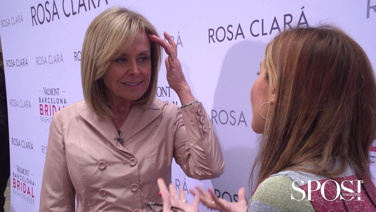 reputable site c507b 1d8bc Rosa Clará 2020, la nuova collezione nelle parole della stilista spagnola