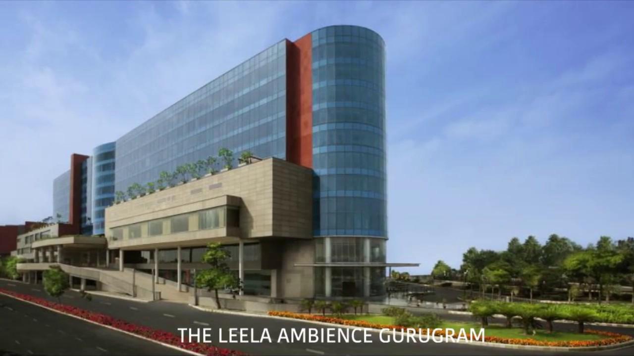 The Leela Ambience Gurugram Hotel & Residences - A 5 Star Hotel that Exudes Luxury