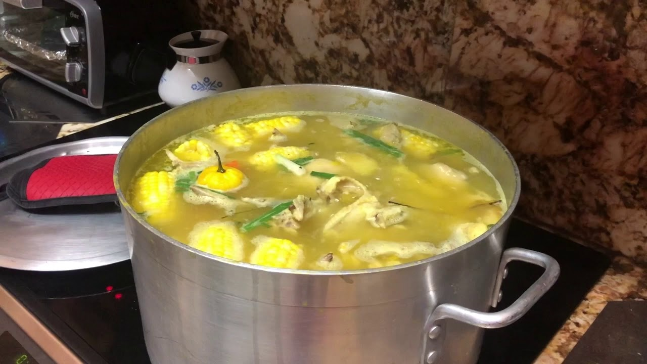 how to make chicken soup jamaican style  youtube