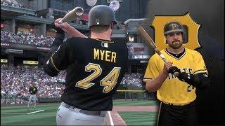 MLB The Show 19  - Matt Myer Road To The Show Pirates Catcher MLB 19 RTTS EP7