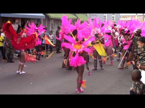 New Year Parade Day St. Kitts SugarMas 2016