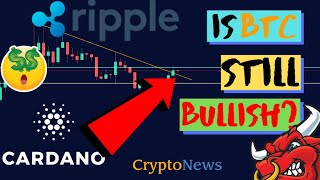 Bitcoin in Trouble? | XRP (RIpple) Adoption! | Cardano HardFork | BTC And Cryptocurrency News