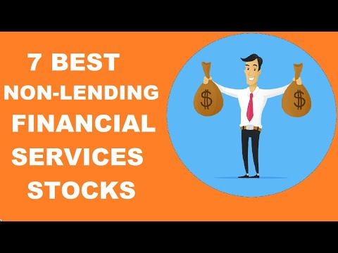7 BEST NON LENDING FINANCIAL SERVICES STOCK FOR WEALTH CREATION