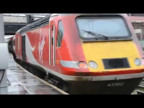 Virgin Trains Class 43 HST Departing Carlisle Railway Station