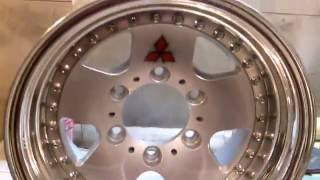 Оновлення дисків з mitsubishi pajero (полірування + фарбування) Частина №2 зразок готовий!