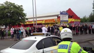 The Olympic Torch Comes To Crewe