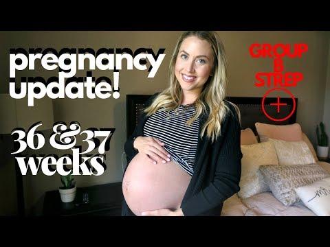 37-weeks-pregnant-//-pregnancy-vlog-//-third-trimester-symptoms