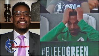 Paul Pierce was stressed out during Celtics' win vs. Blazers | NBA Countdown