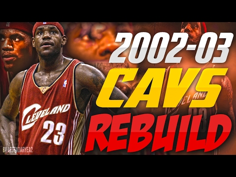 REBUILDING THE '02 - '03 CLEVELAND CAVALIERS!! LIFE BEFORE LEBRON!! - NBA 2K17 MYLEAGUE