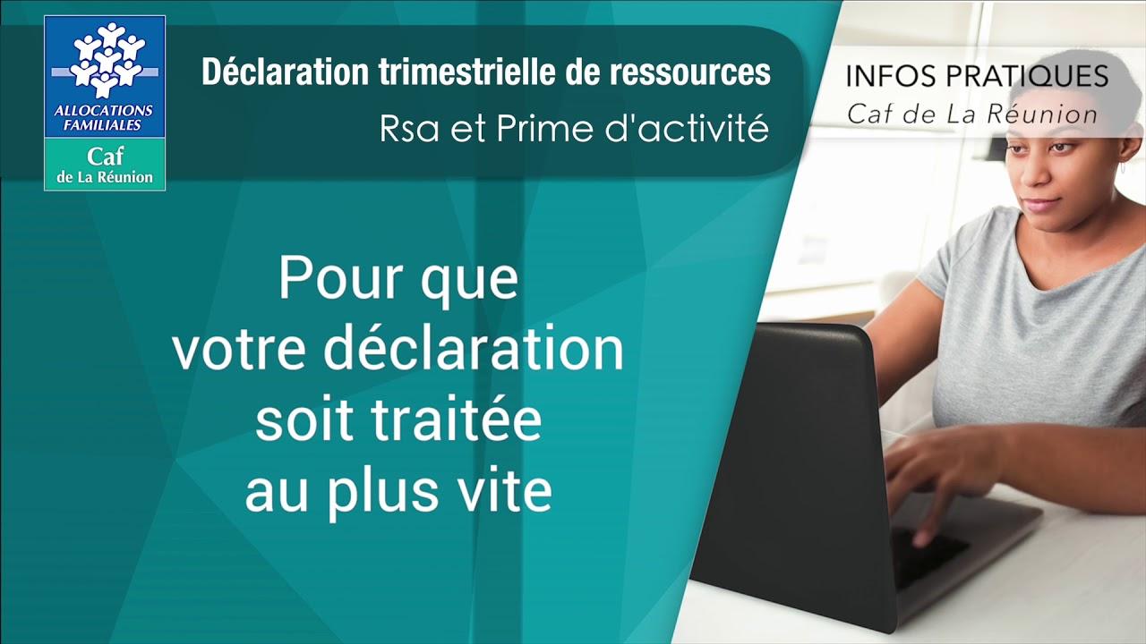 TRIMESTRIELLE DECLARATION TÉLÉCHARGER FORMULAIRE RSA