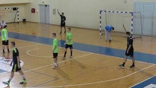 No.11 of the KSLI handball team - left back Oleg (U16). TROPHY 2018. Smederevo.