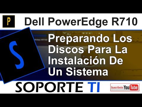 Dell PowerEdge R710 - Preparación de los discos para la instalación del sistema