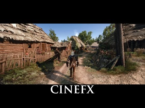 The Witcher 3 Mods - CineFX V1