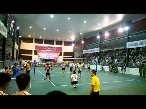 Phút giây đăng quang của Biên Phòng tại giải Bóng chuyền trẻ Cup các CLB toàn Quốc 2015