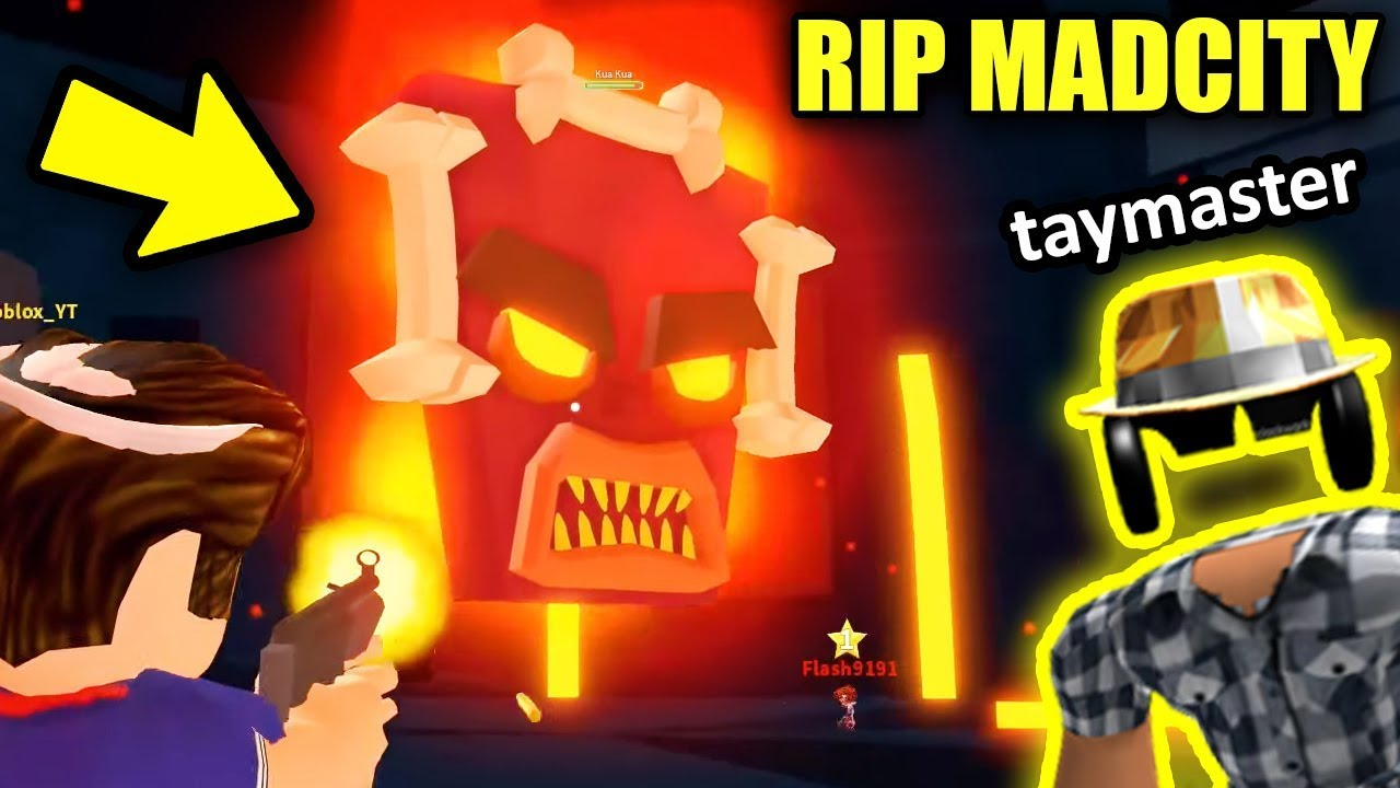 The End Of Mad City Volcano Erupting Update W Taymaster
