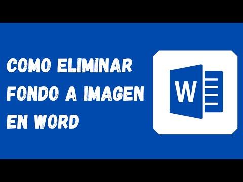 🔵 Como eliminar el fondo a una imagen en word ✨(FÁCIL)