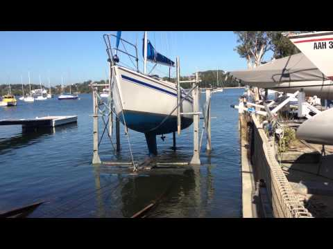 Launching a Northshore 27